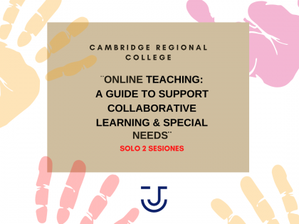 ¨ONLINE TEACHING: A GUIDE TO SUPPORT COLLABORATIVE LEARNING & SPECIAL NEEDS¨